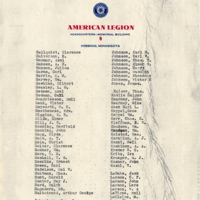 Membership of American Legion (Page 3)